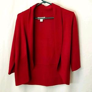 Coldwater Creek Open Front Cardigan  Sweater Sz M